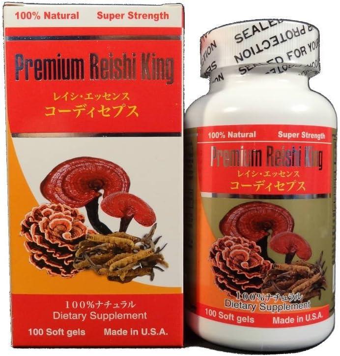Premium Reishi King 100 Softgels
