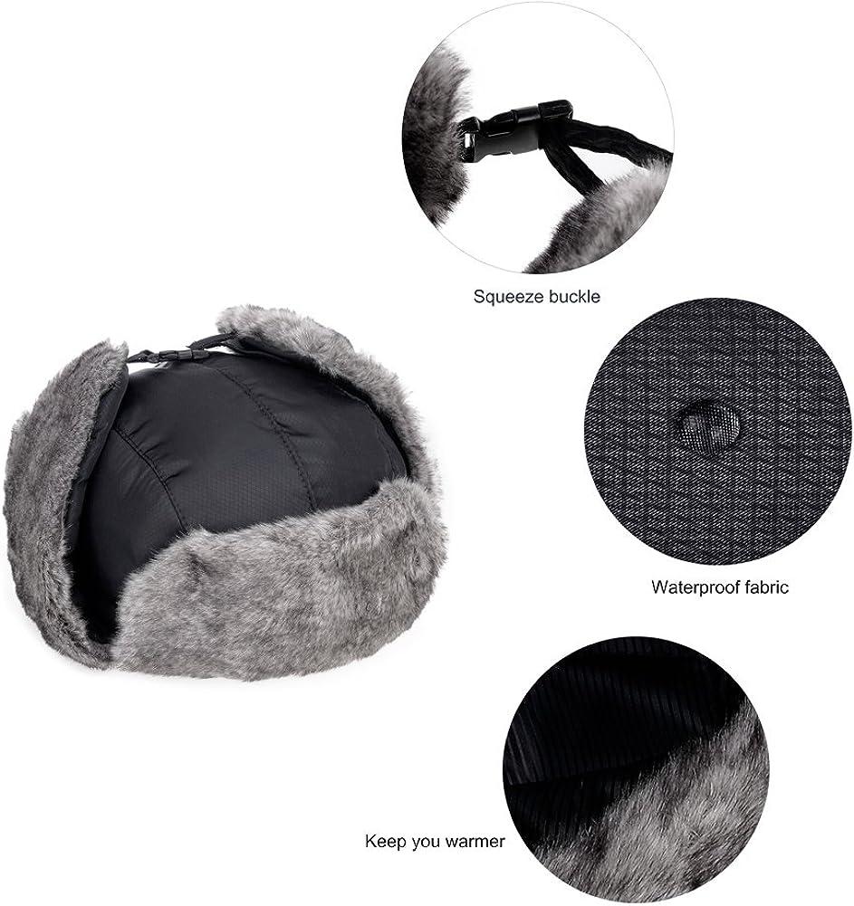 VBIGER Unisex Sombrero de Invierno Sombrero de Felpa Sombrero a Prueba de Viento Sombrero Caliente Gorro Antipolvo Sombrero de Esqu/í Ciclismo