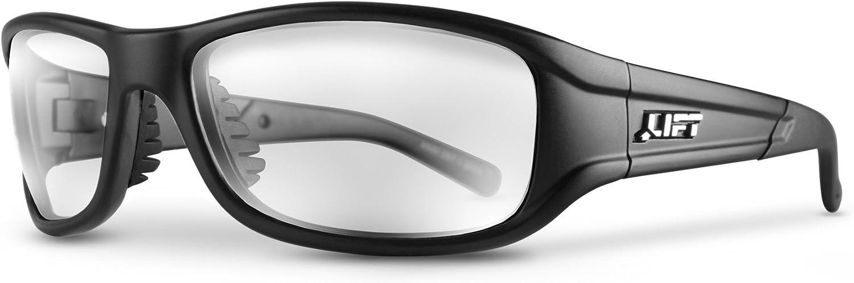 LIFT Safety Alias Safety Glasses (Black Frame/Clear Lens)