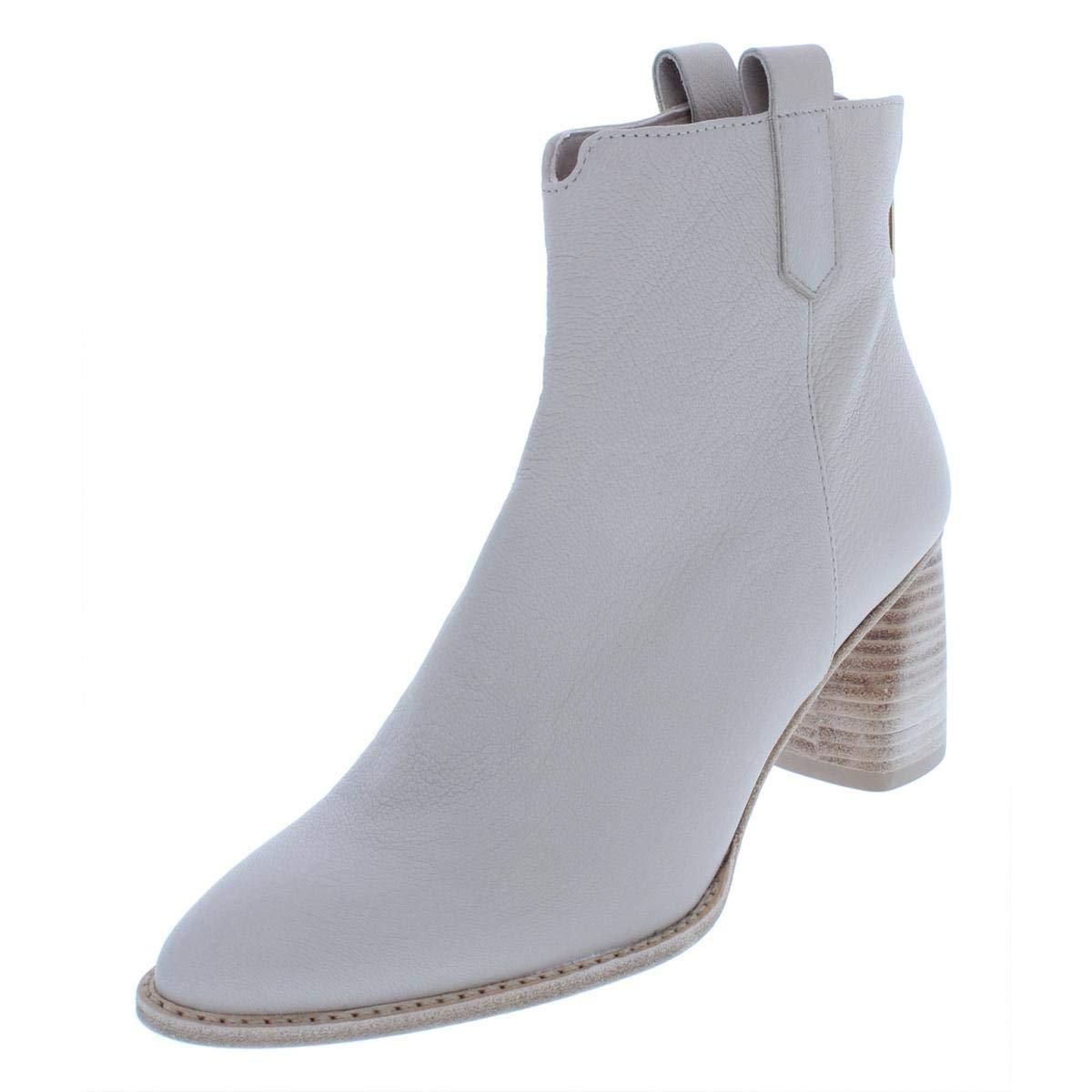 Vanilla Nappa Stuart Weitzman Womens Novako Leather Ankle Booties