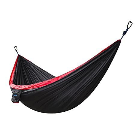 xiyoyo child size nylon parachute fabric camping hammock 570lbs capacity with 2 straps and enhanced carabiners amazon     xiyoyo child size nylon parachute fabric camping      rh   amazon