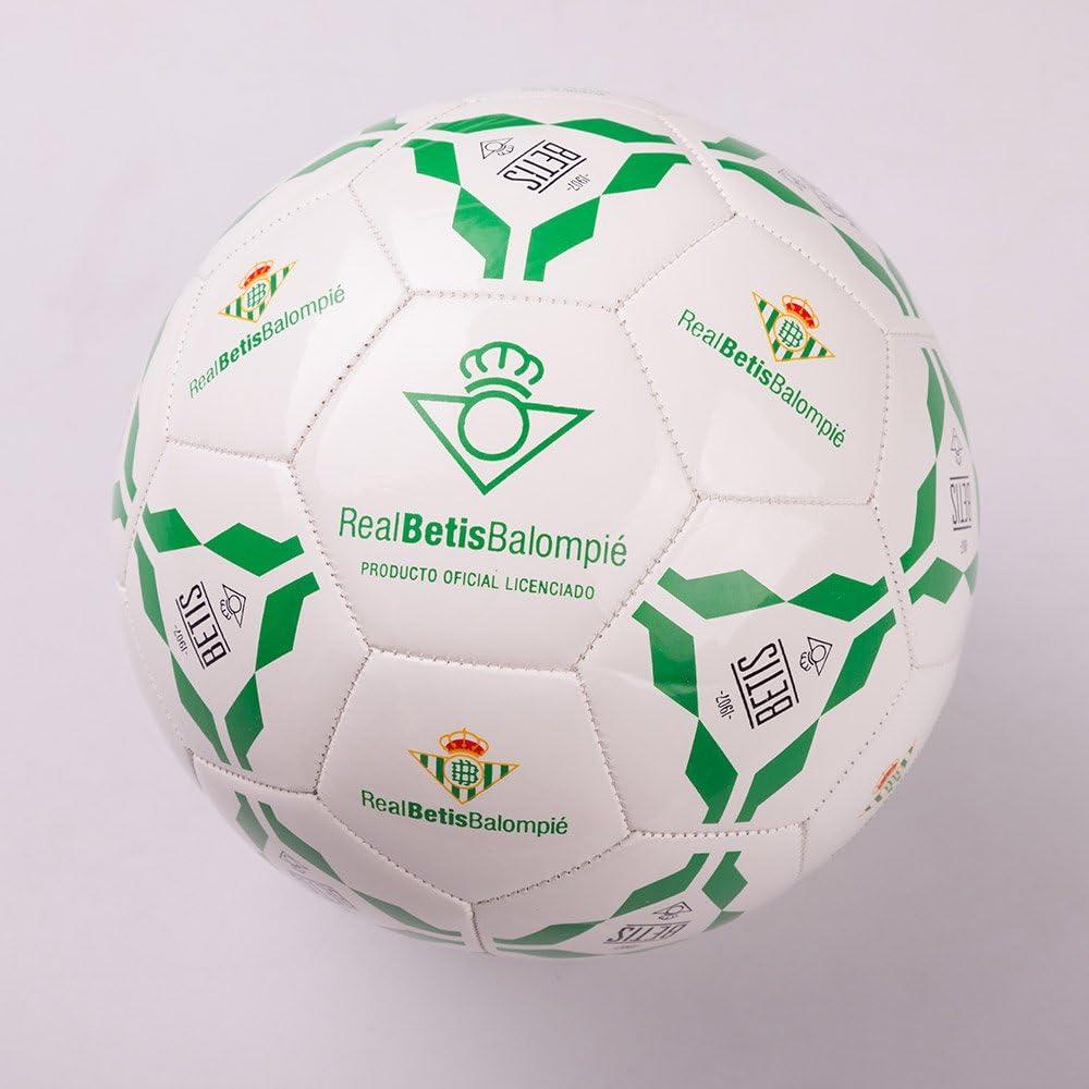 adidas Real Betis Balompié - Balon de fútbol, Blanco, Talla 5 ...