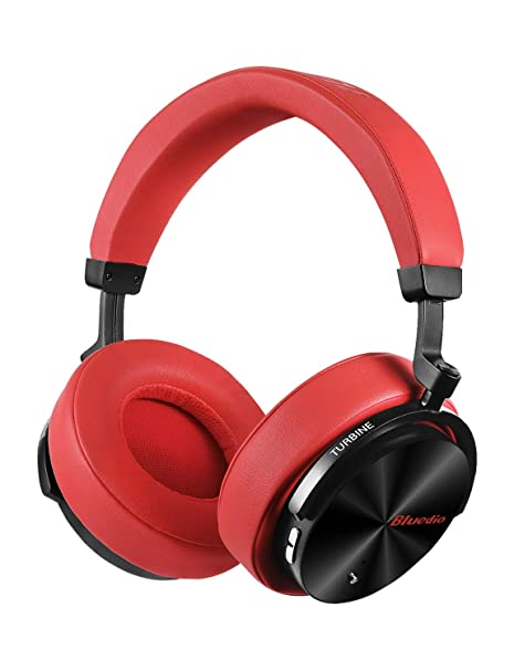 b12c96af0fe Bluedio T5 Active Noise Cancelling Headphones Over Ear Wireless Bluetooth  Headphones with Mic Portable Stereo Headsets
