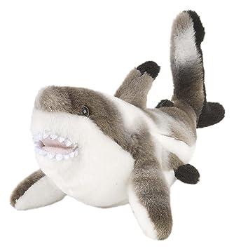 Wild Republic - Peluche Cuddlekins Mini Tiburón punta negra, 20 cm (11476)