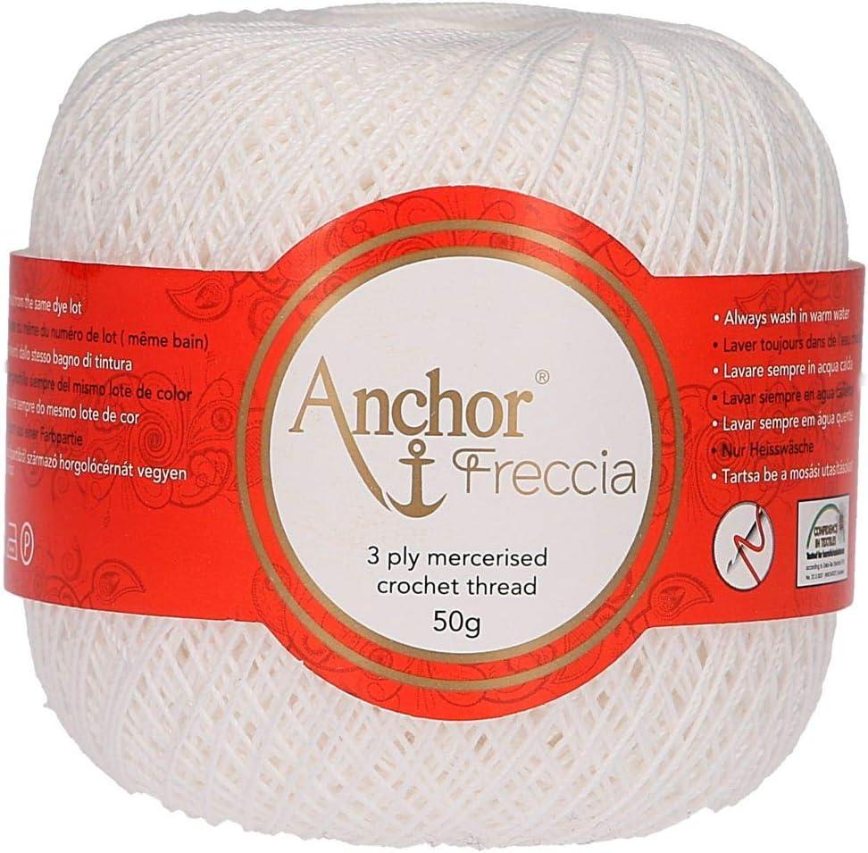 Anchor Hilos De Crochet Freccia, Fuerza: 12, Embalaje: 100g ...