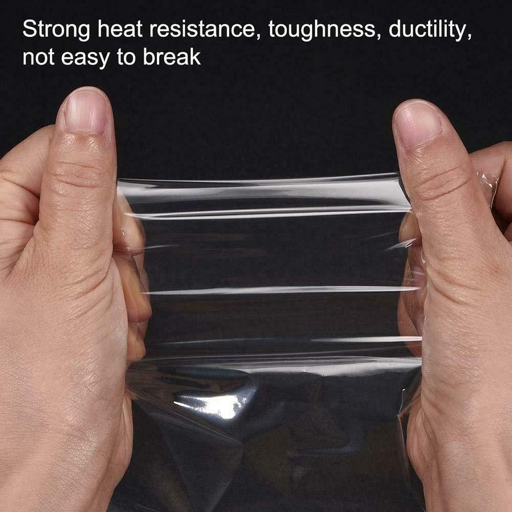 ecologica 8 * 16 CM resistente allo strappo Borsa per imballaggio termorestringente trasparente borsa per film termorestringente POF multifunzionale
