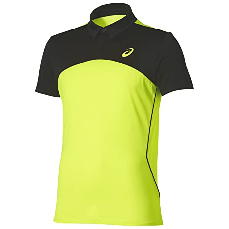 ASICS - Padel Players Polo, Color Amarillo, Talla M: Amazon ...