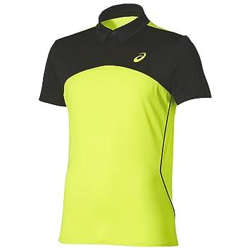 ASICS - Padel Players Polo, Color Amarillo, Talla M: Amazon ...