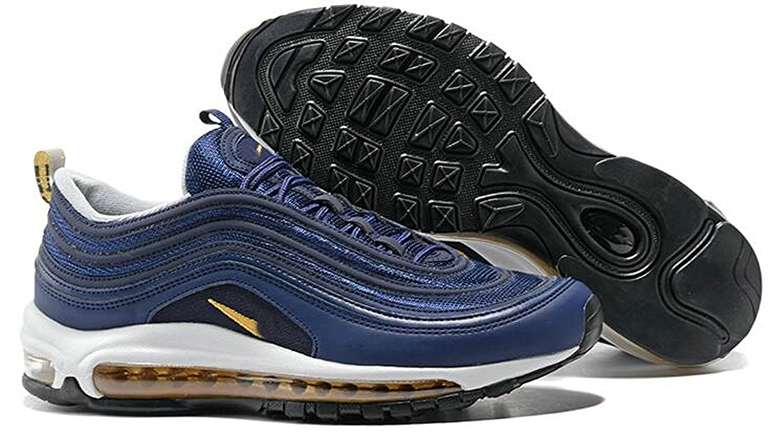 cfae56cd6c542 BESTMAX Air Max 97 Midnight Navy 921826-400: Amazon.co.uk: Shoes & Bags