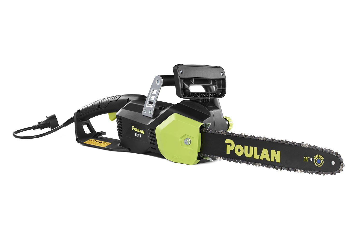 Poulan 14 in. 9-Amp Electric Corded Chainsaw, PL914