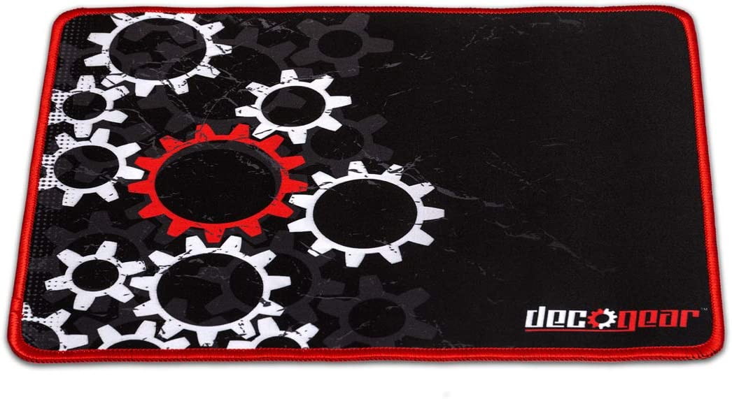 Deco Gear Medium Sized Pro Gaming Mouse Pad Water Resistant Non-Slip 11 x 14