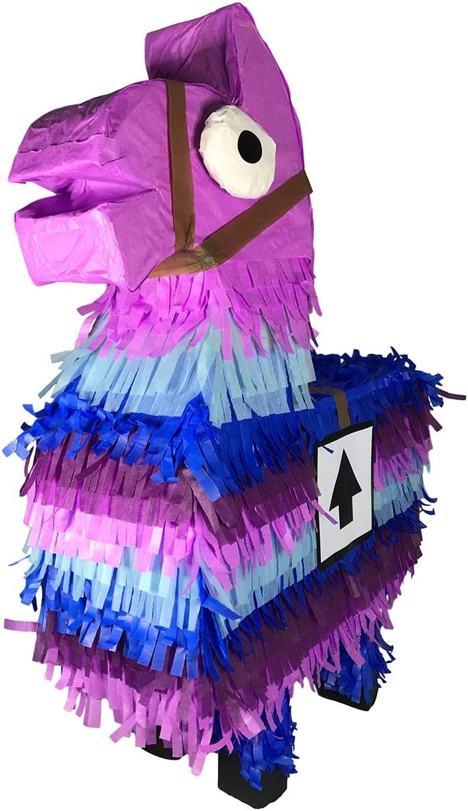 Hand made in Mexico Purple Loot Llama Pi/ñata Aurabeam Loot Llama Party Pinata