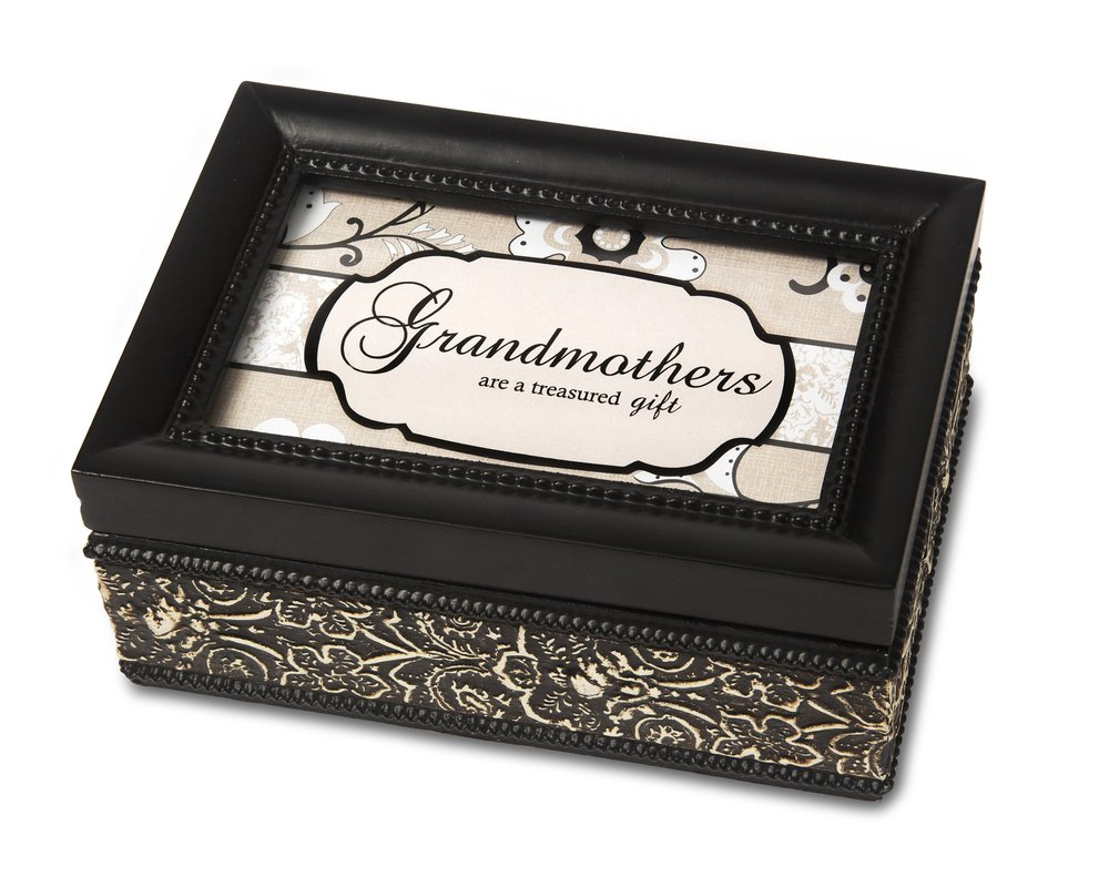 Pavilion Gift Company 88130 Grandmother Music Box, 4 by 6-Inch