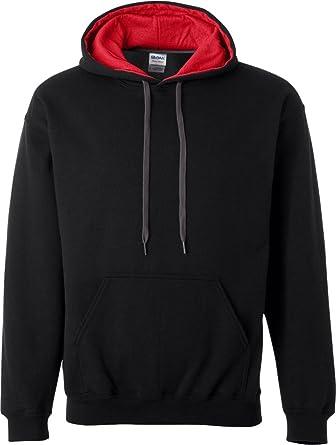 0a3c5f1584e24 Sweatshirt à capuche Gildan pour homme: Amazon.fr: Vêtements et ...