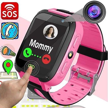 Amazon.com: Reloj inteligente para niños, pantalla táctil ...