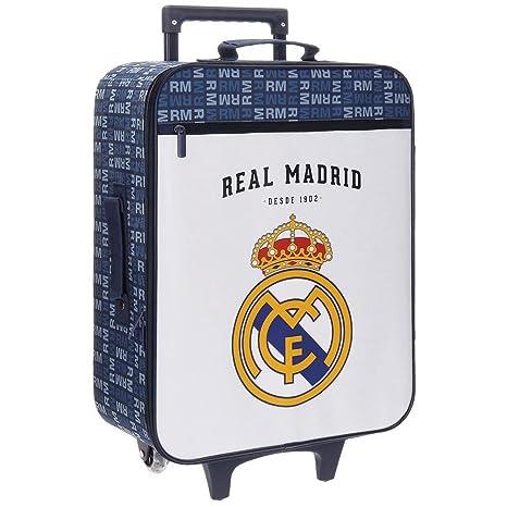 Real Madrid Basic Equipaje Infantil, 52 cm, 26 litros