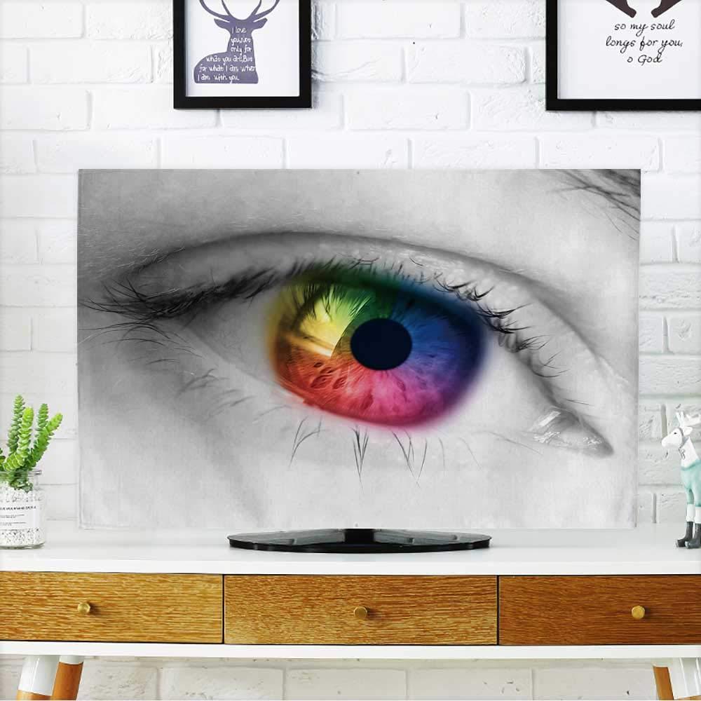 ベトナムのベトナム風景のムカンチャイ、イェンベイのテラスでテレビのライスフィールドを保護しましょう。 テレビの幅19 x 高さ30インチ/テレビ32インチを保護します。 W35 x H55 INCH/TV 60