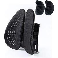 Delgeo Cojín Lumbar Soporte para la Espalda Lumbar ergonómico Cojín de Soporte…