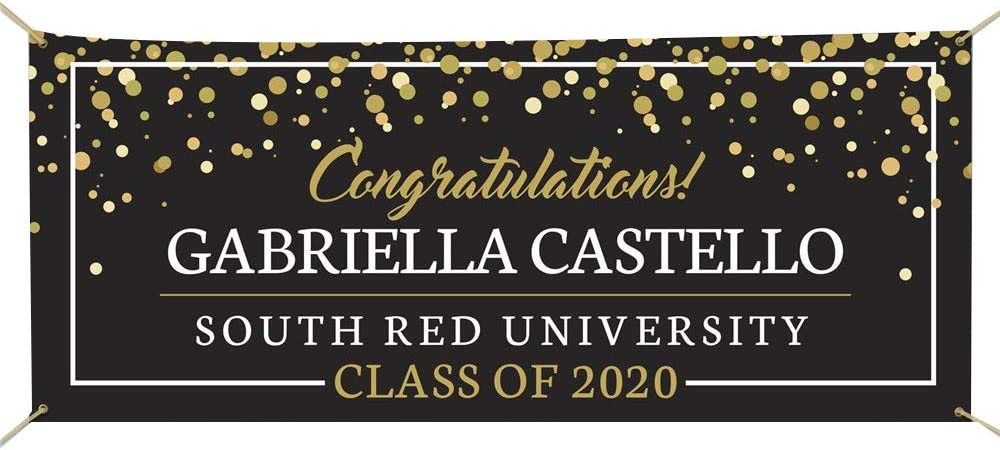 Graduation Party Decorations,Custom Graduation Banner 2019 Banner Class of 2019 Graduation Banner