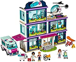 LEGO Friends Heartlake Hospital Building Kit, 871 Piece