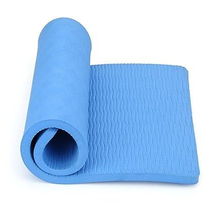 Amazon.com : Dwawoo Yoga Mat, Foam Exercise Yoga Pad Knee ...