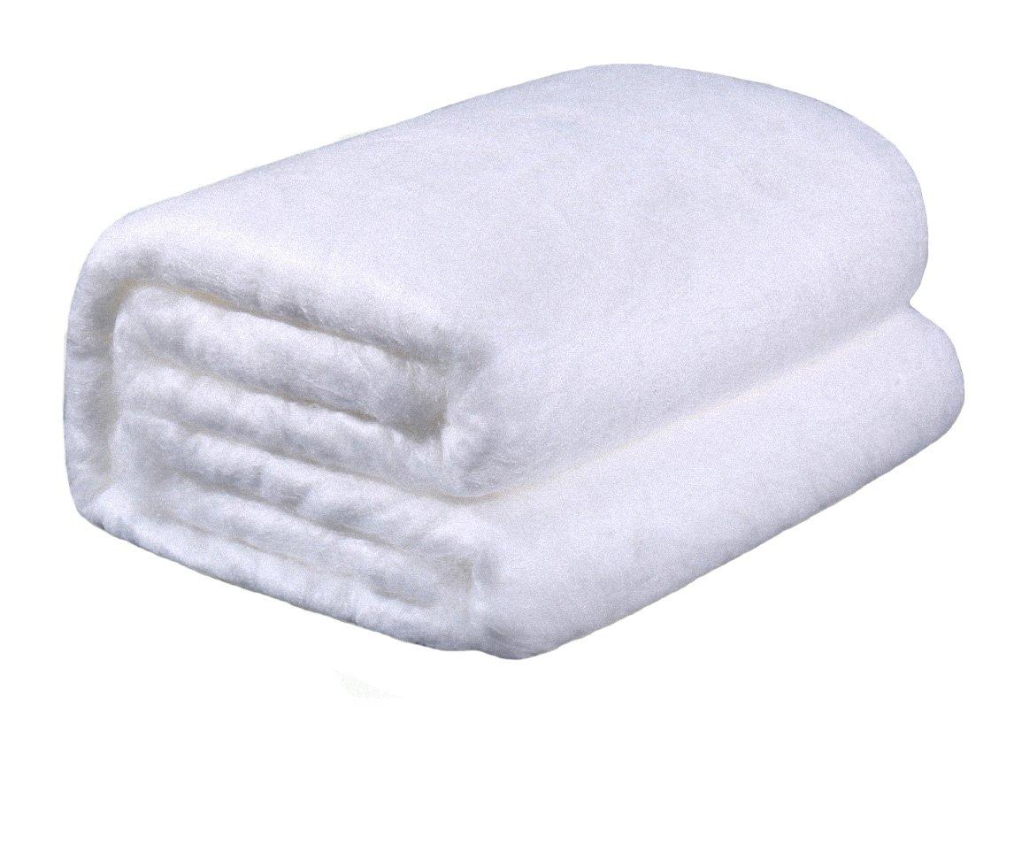 シルク生地布団 手作りシルクシート 天然家蚕シルク生地 カバーなし 軽いのに暖かい 美肌 ナチュラル 静電気を抑えてぐっすり睡眠 カイコの原産地製品  (150cm-200cm, 0.5kg)   B079KSM7B7