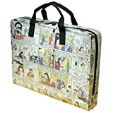 LAPTOP briefcase made from Archie comics, FREE SHIPPING, Padded computer work office bag vintage nostalgic upcycled upcycling different person vegetarians products people enthusiasts enthusiast