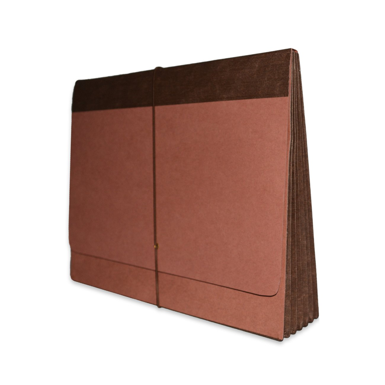 Fibre-Guard Expanding Wallet, Letter Size with 5 1/4'' Fully Reinforced Tyvek Gusset, Elastic Tie Closure, 25 per Carton