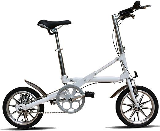 Bicicleta plegable de una sola velocidad, bicicleta compacta ...