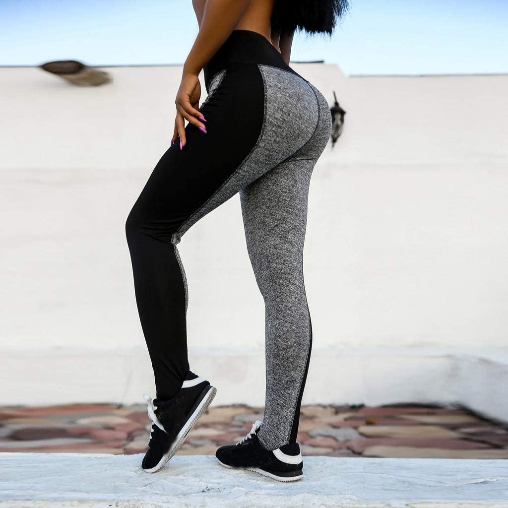Compression Yoga Pants for Women Daily Fitness Training Work-Out Gym Sports Tights High Waist Stretch Tummy Control /& Butt Lifting Skinny Leggings
