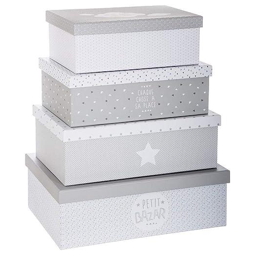 Atmosphera un Conjunto de 4 Cajas para la conservación Petit ...