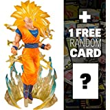 Super Saiyan 3 Son Goku: Dragonball Z x Tamashii Nations FiguartsZERO Figure + 1 FREE Official Drago