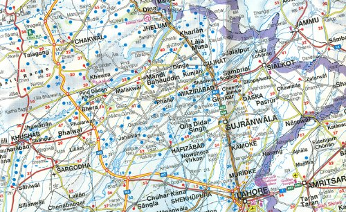Pakistan Road Map in the UAE See prices reviews and buy in Dubai – Uae Map Road