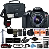 Canon EOS Rebel T6 18MP Digital SLR Camera Retail Packaging 16 Piece Videographer Bundle (18-55mm)