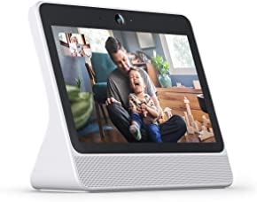 """Portal from Facebook. Smart, Hands-Free Video Calling with Alexa Built-in [10.1"""" display] – White"""