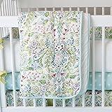Carousel Designs Bebe Jardin Crib Comforter