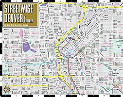 Streetwise Denver Map - Laminated City Center Street Map of ...