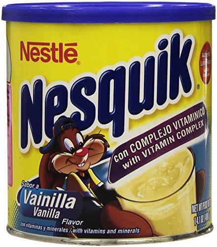 Nesquik Vanilla Flavor Powder, 14.1