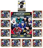 #10: 2017/18 Panini NHL Hockey Stickers SPECIAL COLLECTORS PACKAGE with 80 Brand New MINT Stickers & HUGE 72 Page Collectors Album! Plus SPECIAL BONUS of 2005 UD Sidney Crosby ROOKIE Card! Loaded! WOWZZER!