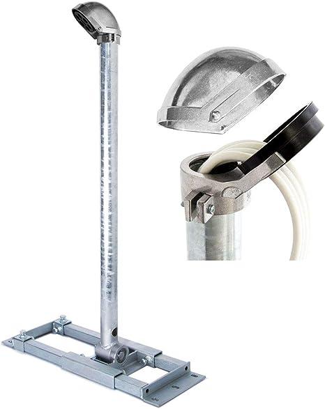 Premiumx Deluxe X90 48 Dachsparrenhalter 90cm Mast Ø 48mm Sat Dach Sparren Halterung Inkl Alu Mastkappe