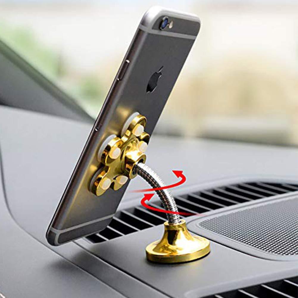 Magic Suction Cup Car Phone Holder Bracket Car Phone Holder 360 Universal Phone Holder Multi-Angle Desktop Ultra-Stable Magic Sucker