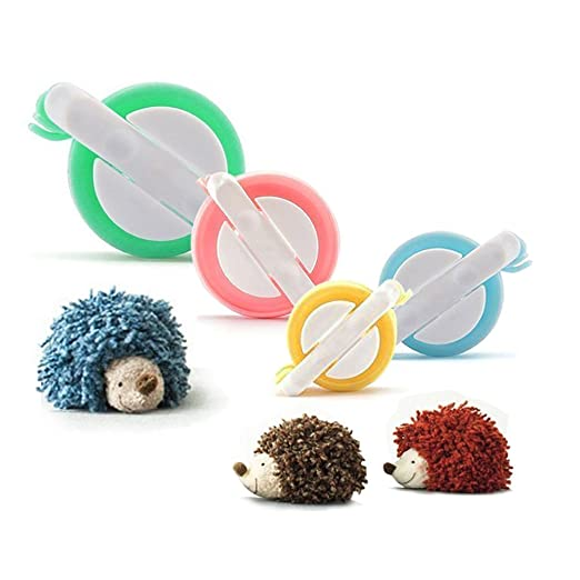 21 opinioni per Pom Pom Fare,PALADY 4 formati di Pom Pom Maker Per i bambini fai da te a maglia