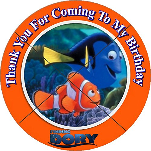 12-finding-dory-birthday-party-favor-stickers-labels-for-gift-goody-treat-bag-25-inches-circle-stick