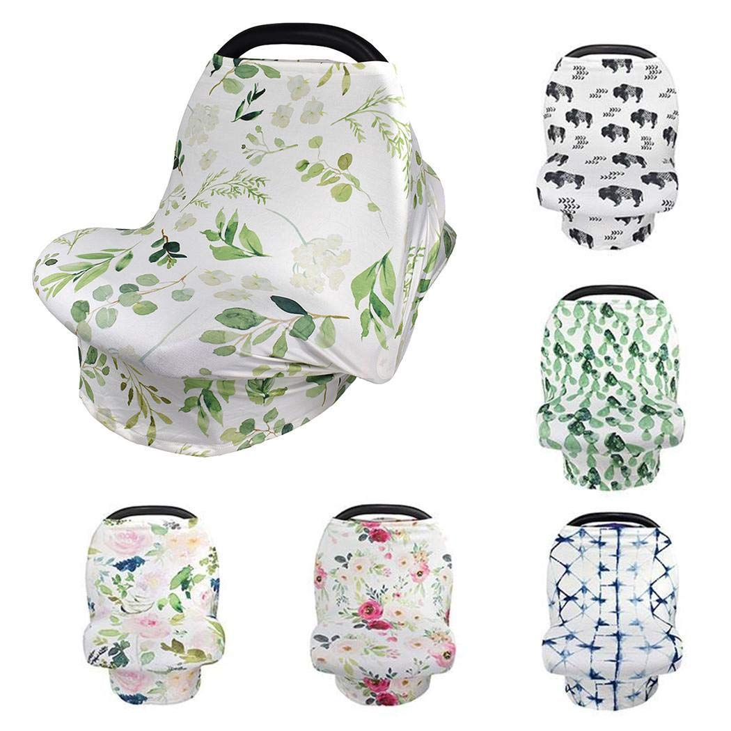 TEXXIS New Breathable Durable Multi-Function Lightweight Nursing Car Seat Cover for Baby Weather Shields