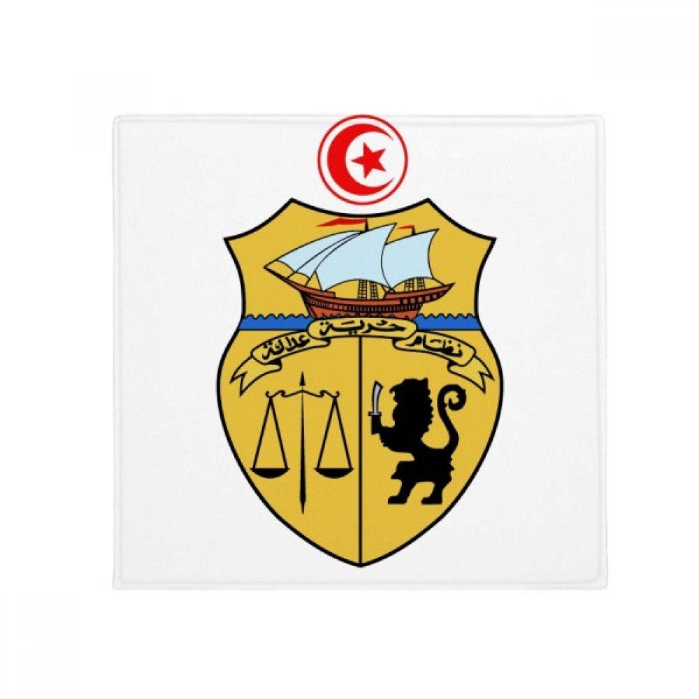 DIYthinker Tunisia Asia National Emblem Anti-Slip Floor Pet Mat Square Home Kitchen Door 80Cm Gift