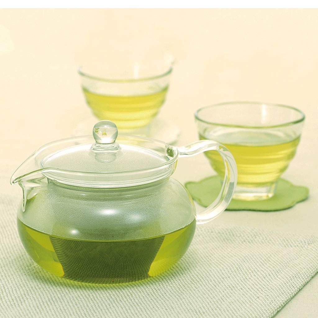 Kinue Exquisite Tea Cups Saucers Set Set Coffee Cup Teapot Set,Cold Kettle,Teacup,Creative, Mug, Constant Temperature, Contains No Harmful Substances Such As Lead and is Chemically Stable by Kinue (Image #3)