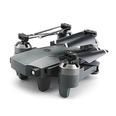 2.4G 4 Canal 6-Axe RC Drone Mini Pliable Hélicoptère RC Wifi En Temps Réel Transmission Drone et Accessoires (Vendus Séparément)