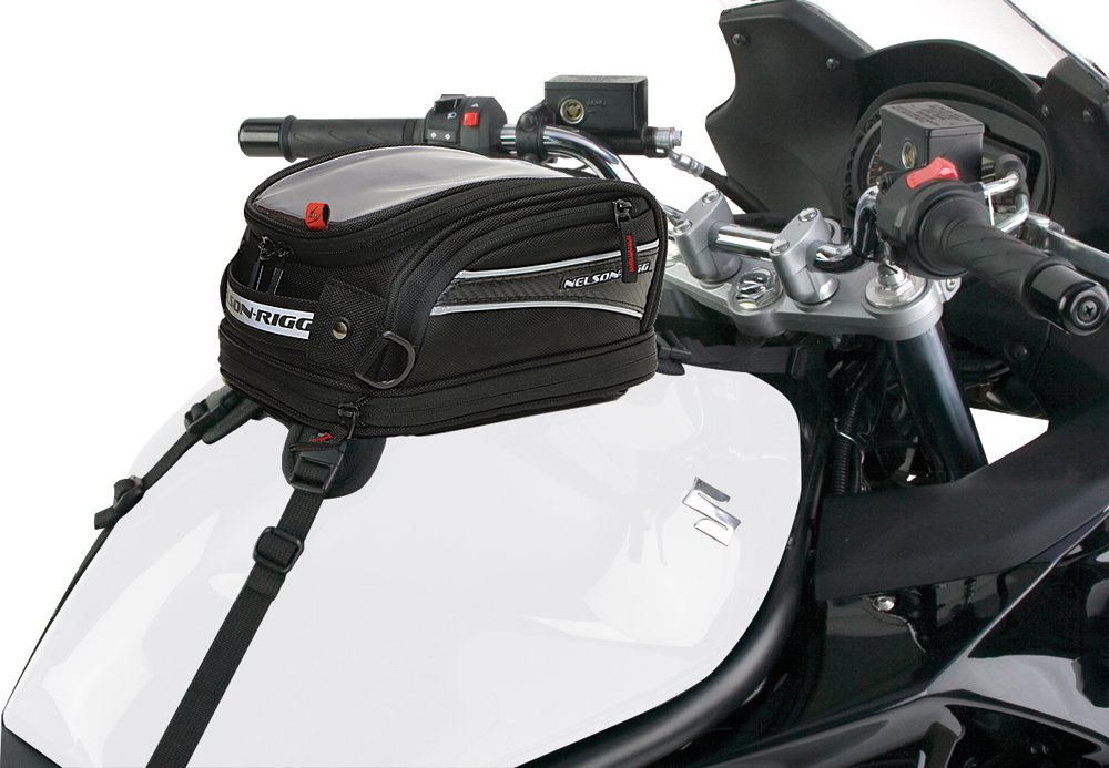 Amazon.com: Nelson Rigg CL-2014 Journey Mini Motorcycle Tank Bag ...
