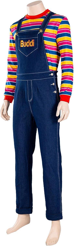 Disfraz de Chucky Glen para Adultos y niños, Disfraz de Halloween ...