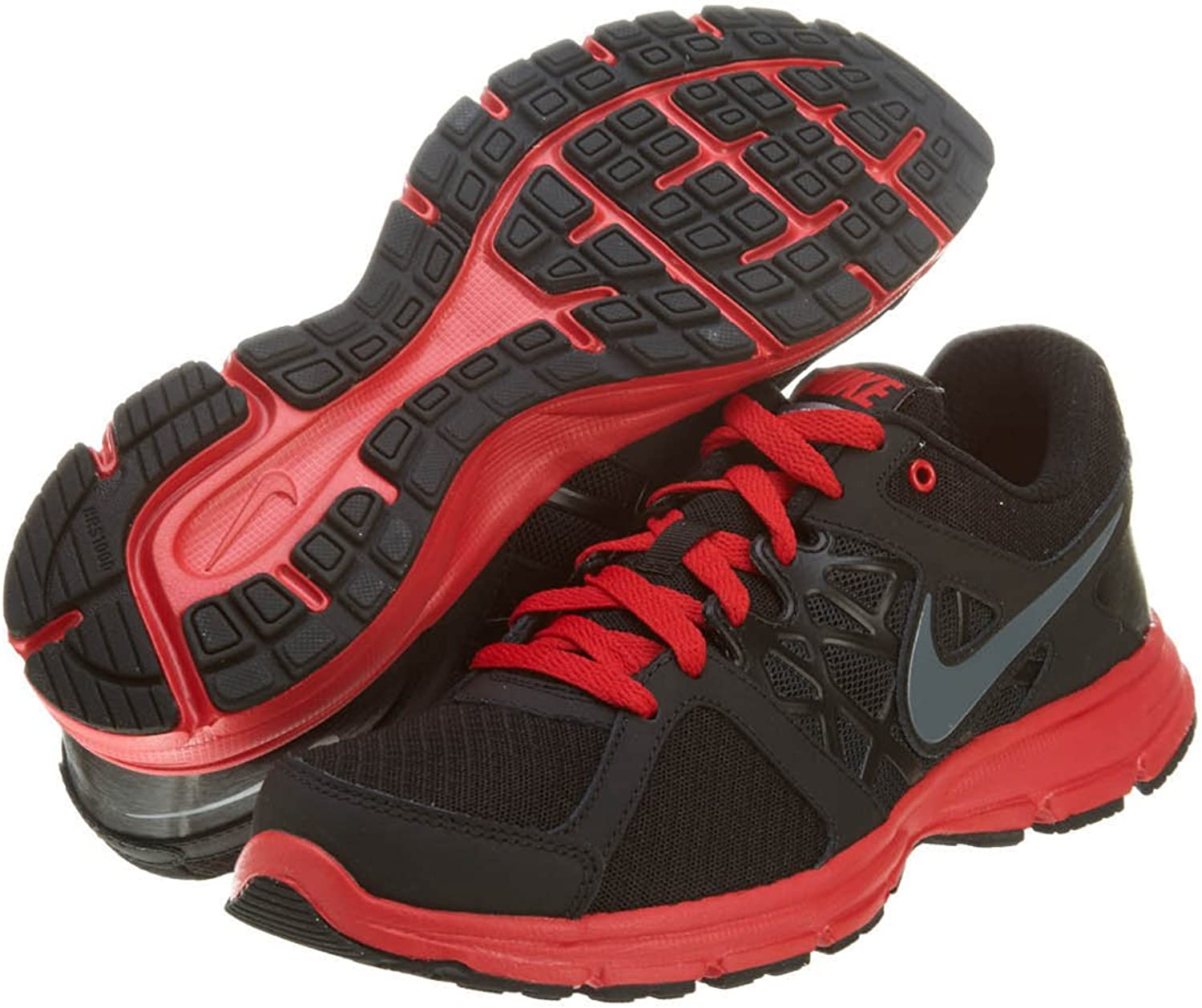 NIKE Zapatillas Air Relentless 2 Negro/Gris/Rojo EU 40 (US 7 ...